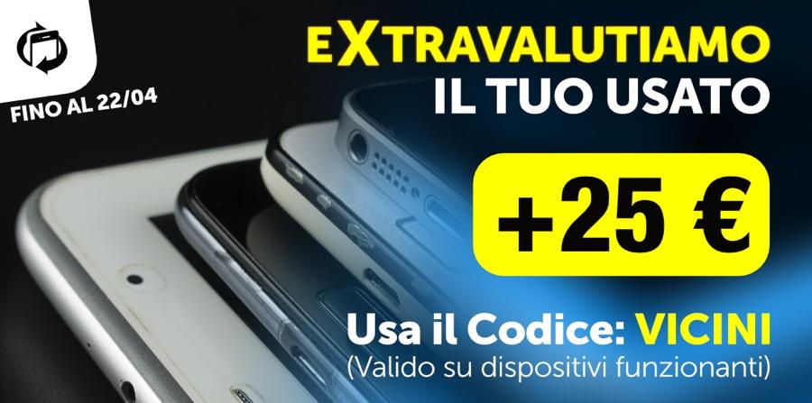 Extravalutazione TrenDevice: il vostro usato vale di più. E da oggi potete vendere anche Huawei e PlayStation