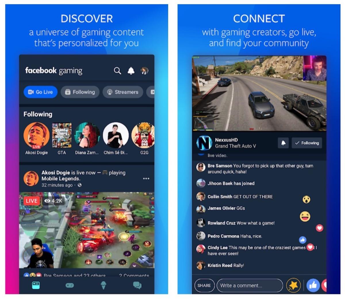 apple facebook gaming