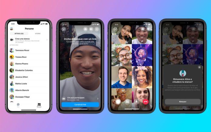 Facebook Messenger Rooms, le videochiamate di gruppo ora in Realtà Aumentata
