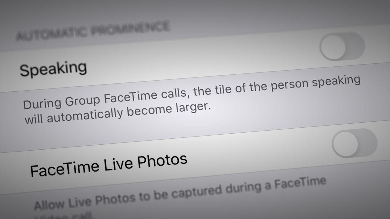iOS 13.5 permette di disattivare l'ingrandimento all'istante nelle chiamate FaceTime di gruppo
