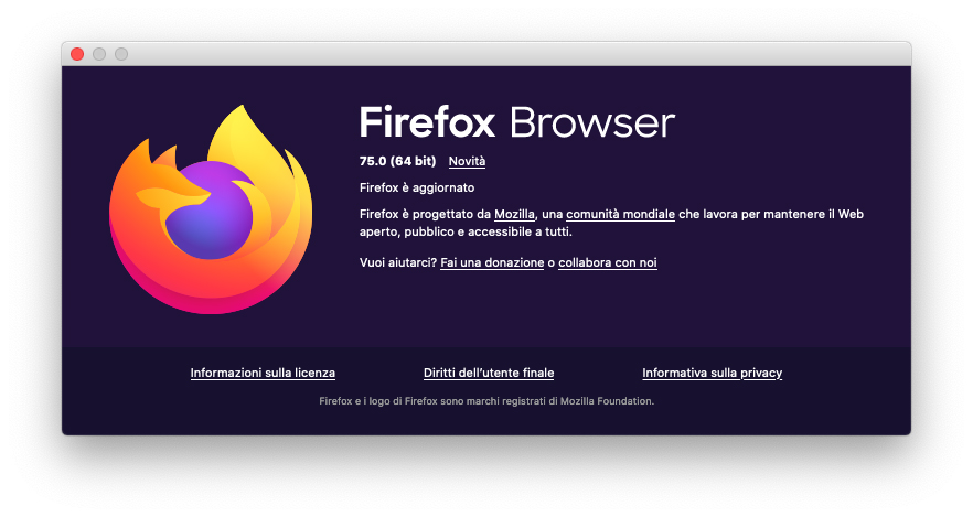 Firefox 75 con barra degli indirizzi rivista e nuove funzioni per le ricerche