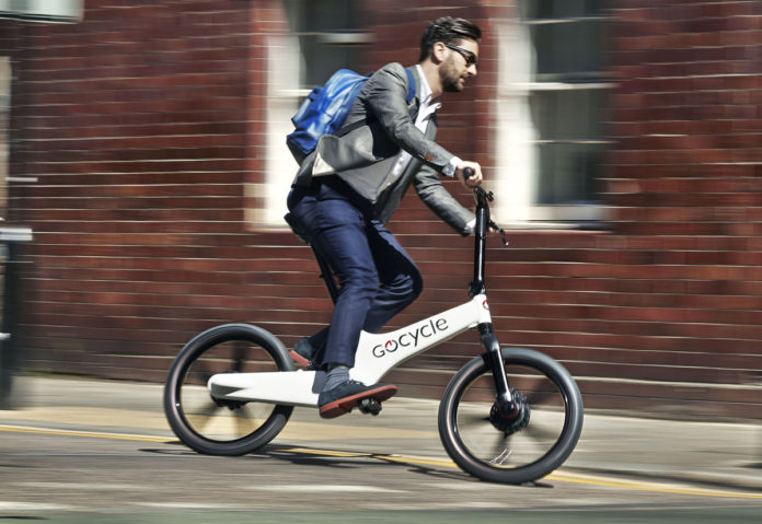 Gocycle G3 è la bici pieghevole con pedalata assistita che si gestisce dall'iPhone