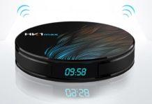 HK1MAX, lo smart tv box Android con 4K, dual band WiFi e 64 GB di ROM in offera a 42 euro