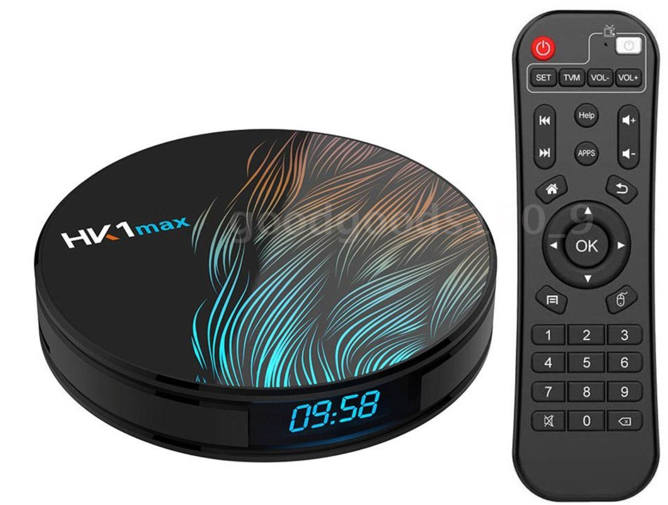 HK1MAX, lo smart tv box Android con 4K, dual band WiFi e 64 GB di ROM in offera a 42 euro