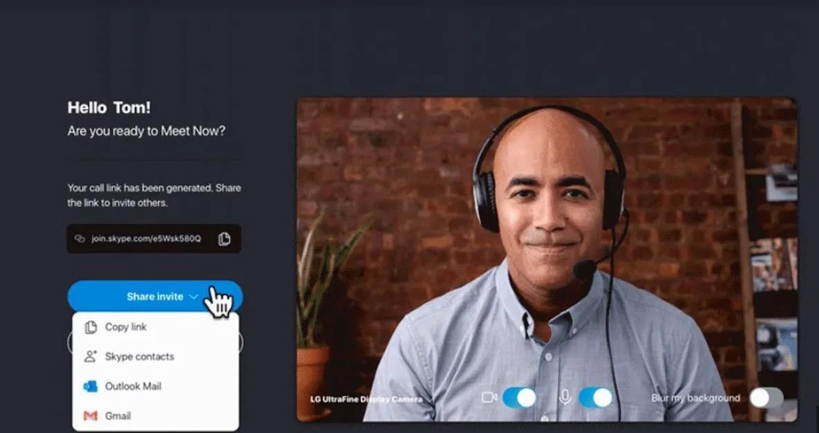 Con Skype videochiamate senza registrazione