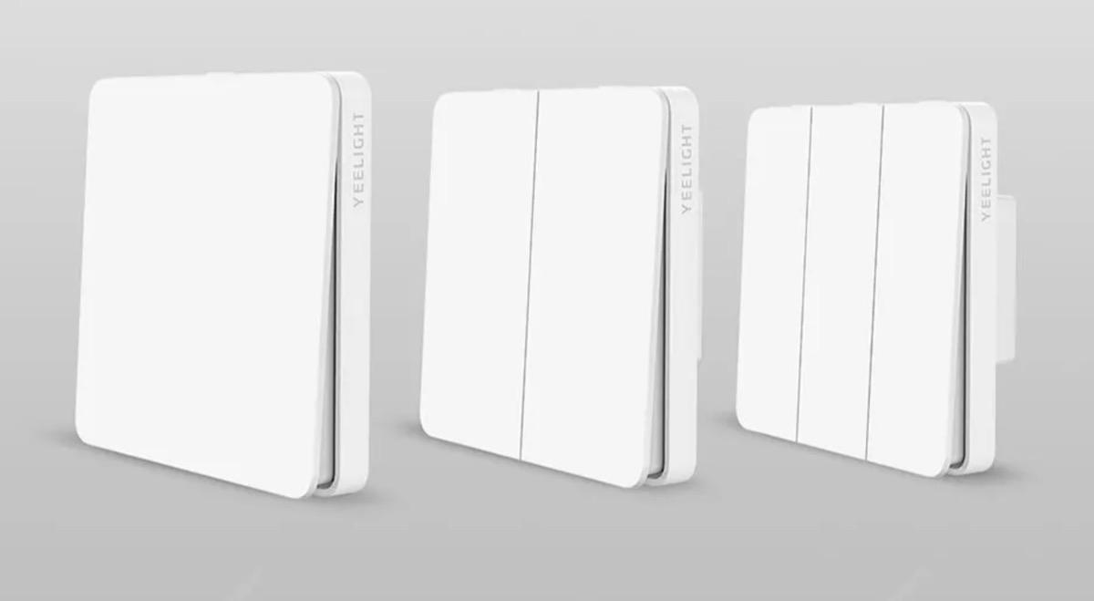 Interruttore wireless Smart con 3 pulsanti in 1 a meno di 10 euro
