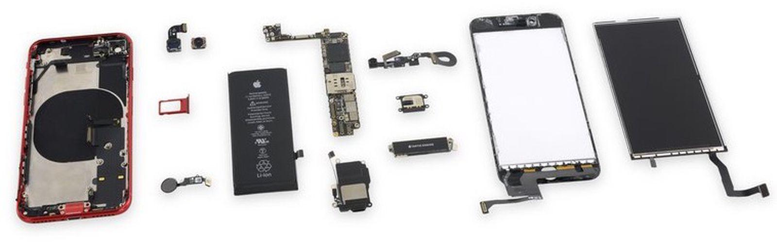 iPhone SE 2020 è il più riparabile degli smartphone Apple