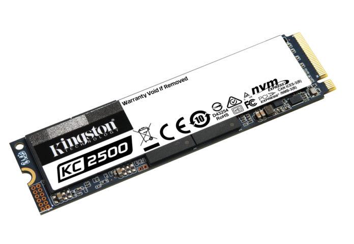Kingston ha presentato l'SSD di prossima generazione NVMe PCIe KC2500