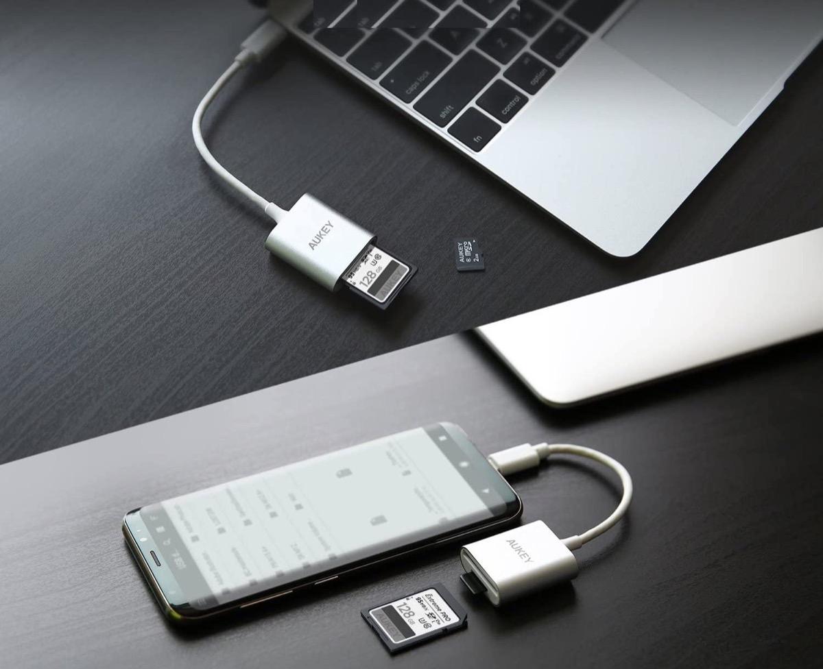 Lettore di schede SD e microSD per dispositivi USB-C in sconto a soli 9,99 euro