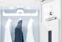 Arriva in Italia LG Styler, il guardaroba intelligente che cura i capi d'abbigliamento