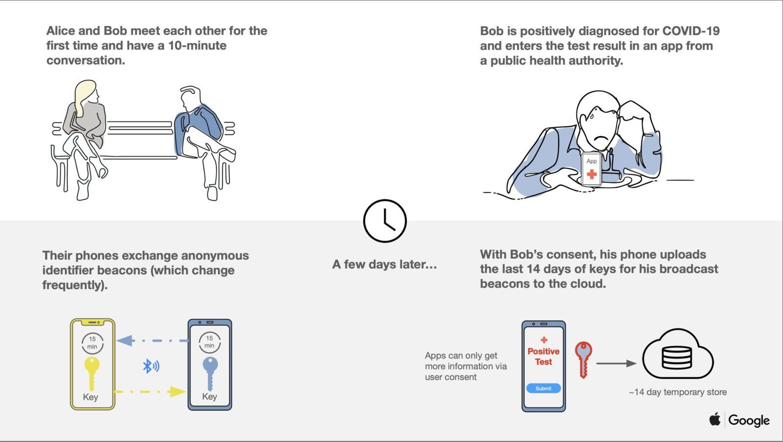 Per fermare il Coronavirus Apple e Google faranno parlare iPhone e Android