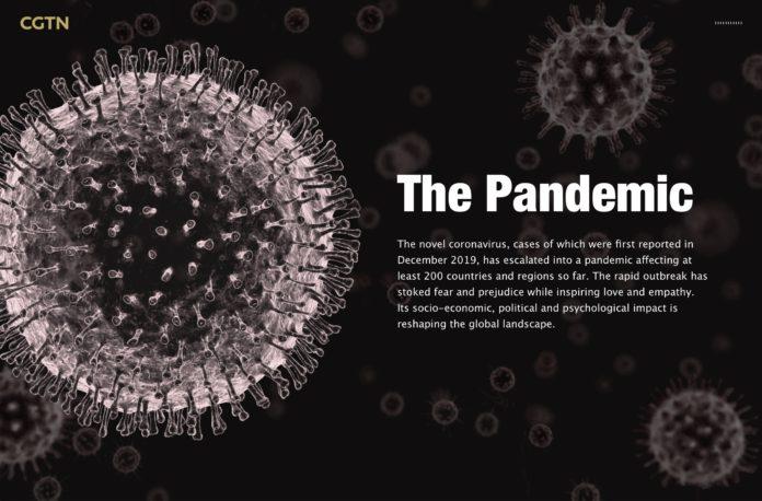Infografiche, statistiche interattività: così la TV Cinese spiega la storia del virus