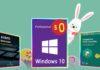 Su BZfuture è già Pasqua: licenze Windows gratis con antivirus scontati al 60%