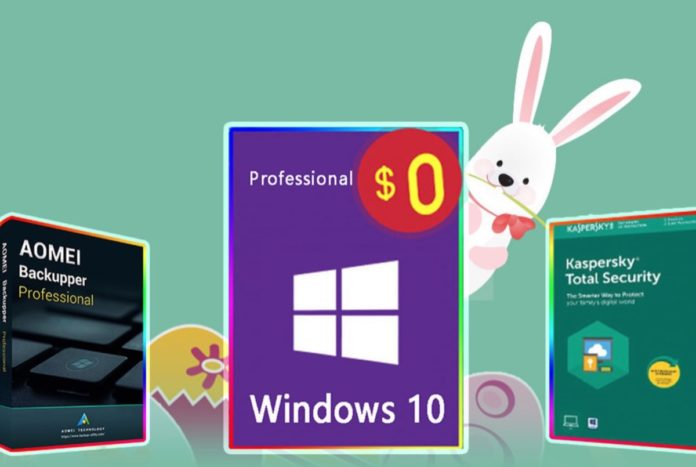 Su BZfuture è già Pasqua: licenze Windows gratis con antivirus scontati al 60%