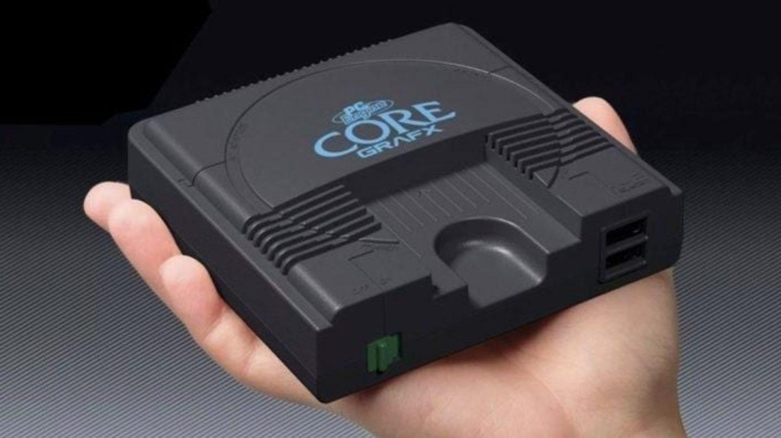 PC Engine CoreGrafx mini, la mitica console PC Engine rivive in versione mini