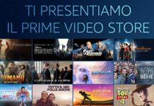 I film in anteprima si possono acquistare o noleggiare su Amazon Prime Video Store