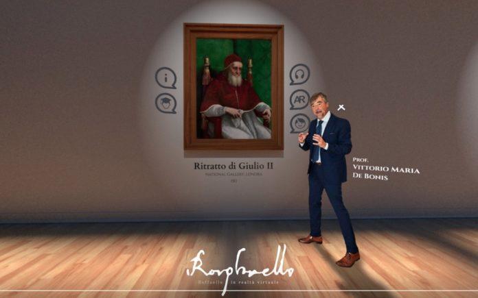 Raffaello VR: l'arte diventa virtuale grazie alla realtà aumentata
