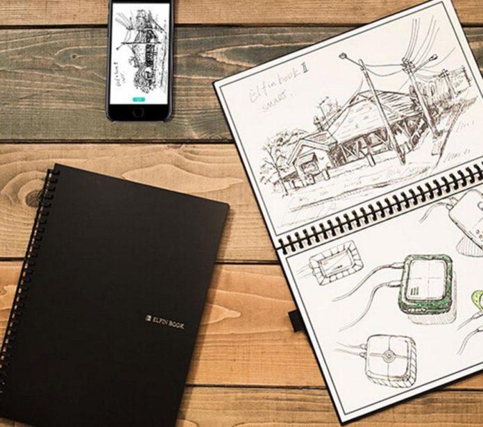 ELFIN Elfinbook2.0 B5 Notebook Riusabile Intelligente – Nero