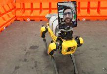 Il cane-robot di Boston Dynamics in aiuto delle persone colpite dal coronavirus
