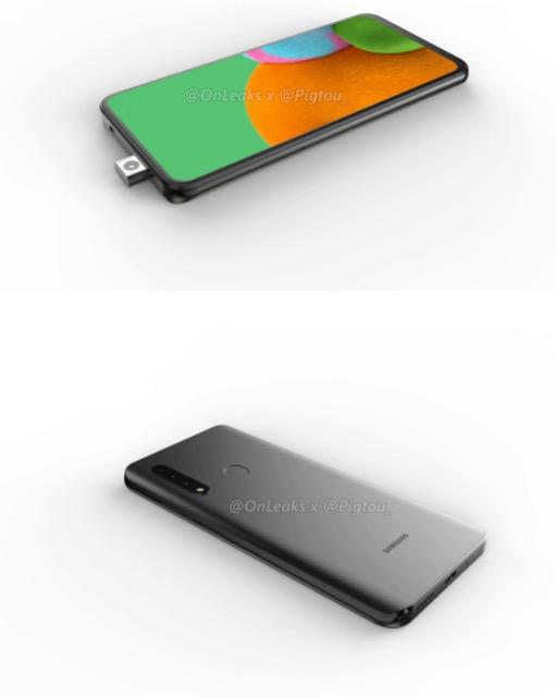 Ecco il primo smartphone Samsung con fotocamera frontale a scomparsa