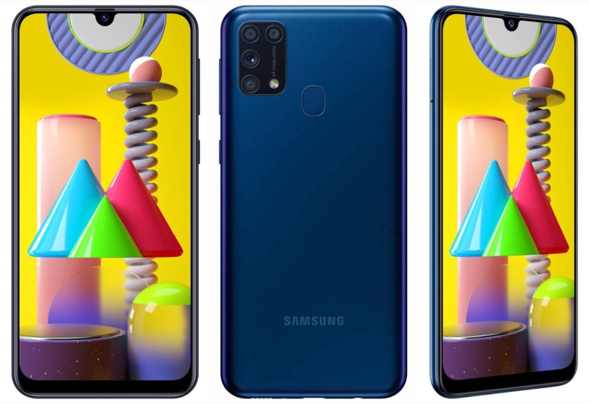 Samsung Galaxy M31 annunciato