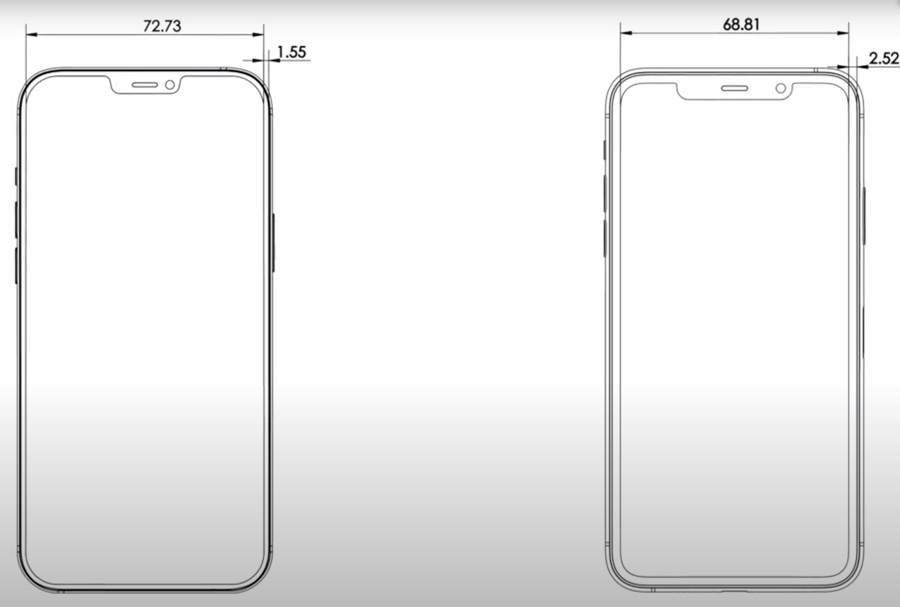 Negli schemi iPhone 12 è più sottile e moderno, forse arriva Smart Connector