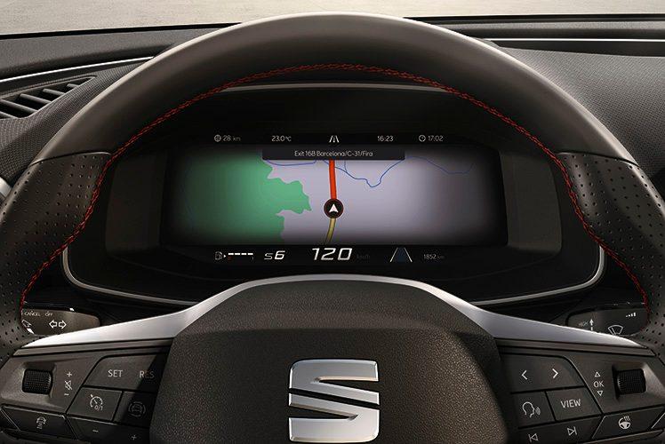 La nuova Seat Leon offre connettività avanzata dentro e fuori dall'auto