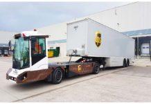 UPS testa i veicoli a guida autonoma per spostare i rimorchi nell'hub di Londra