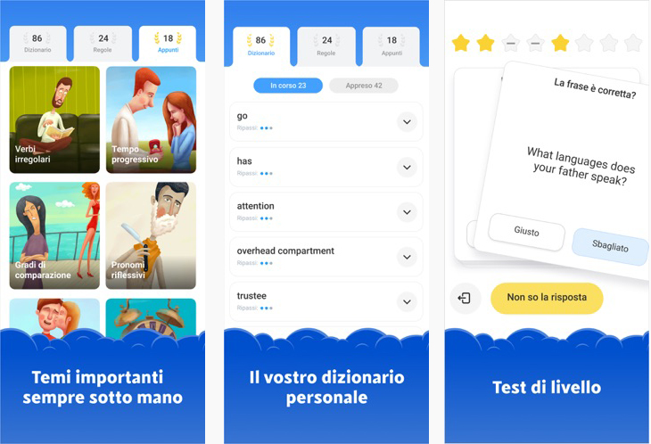 Simpler: l'app russa per imparare l'inglese, è ora disponibile in Italia