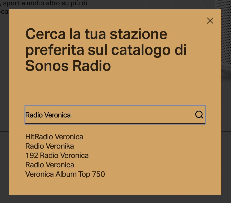 Sonos Radio: la radio in streaming gratuita arricchisce l'offerta Sonos
