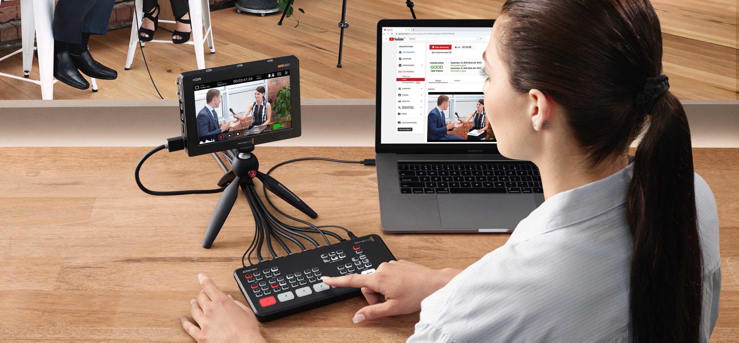 Blackmagic Design ATEM Mini Pro è un nuovo switcher economico per produzioni live