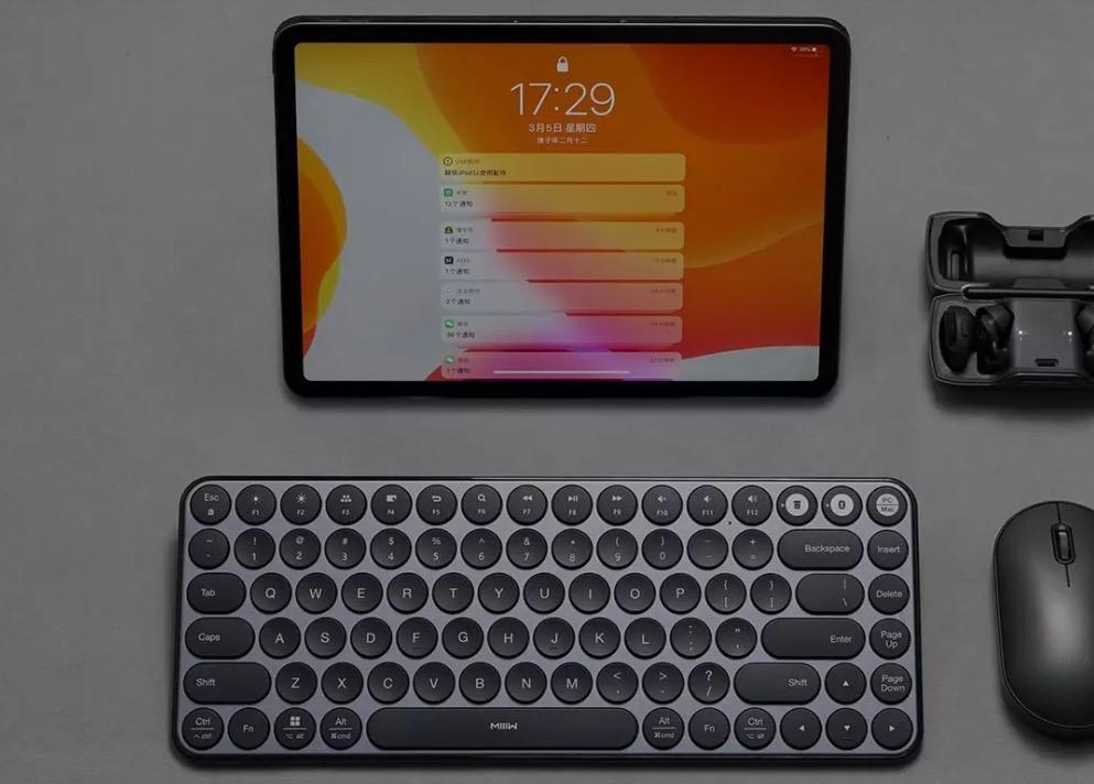 Stile e design nella tastiera Xiaomi per iOS, Android, PC e Mac: solo 37,99 euro con codice sconto