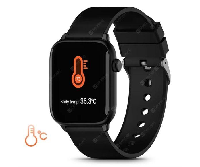 TICWRIS GTS, lo smartwatch che misura la temperatura corporea in offerta a 20 euro circa