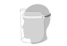 In un documento di Apple file e istruzioni per stampare da soli le visiere facciali