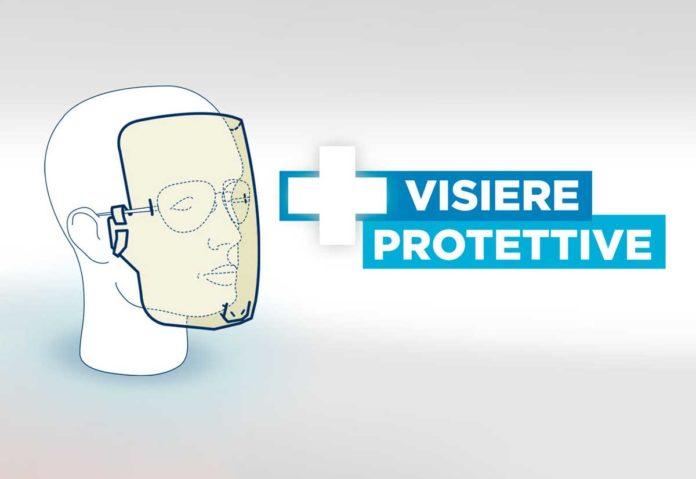 L'Istituto Poligrafico trasforma la plastica delle carte di identità in visiere protettive