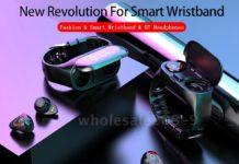Ecco la smartband con auricolari True Wireless integrati, in offerta a 43,79 euro