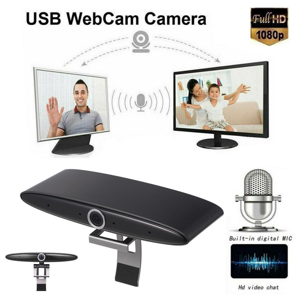 Webcam USB 1920 x 1080 e microfono con riduzione del rumore in offerta online