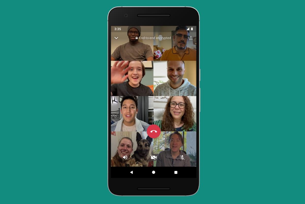 WhatsApp per iPhone ora supporta le video chiamate fino a 8 persone