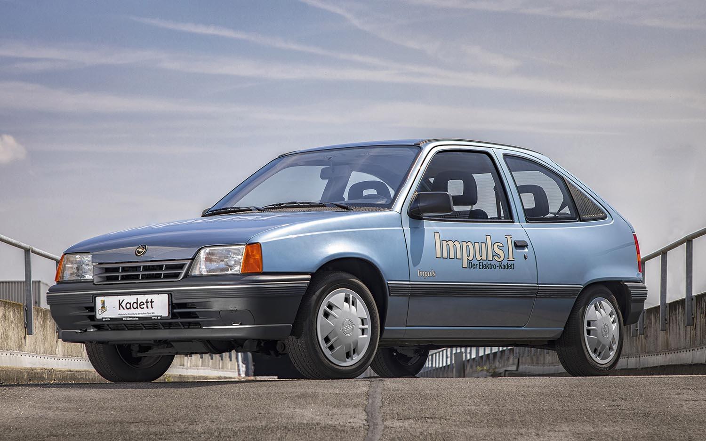 La Opel Kadett Impuls I, trent'anni addietro la prima vettura elettrica di Opel