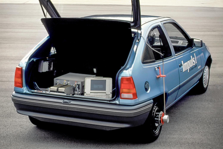 opel elettrica Opel Kadett Impuls I: trent'anni addietro la prima vettura elettrica di Opel