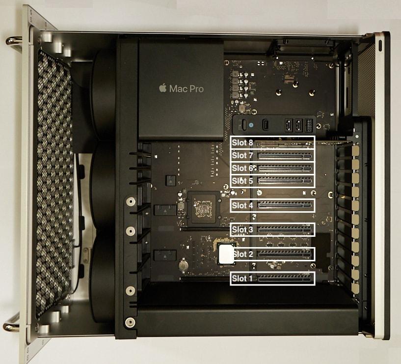 Mac Pro 2019, come ti risolvo il kernel panic cambiando slot ad una scheda PCIe