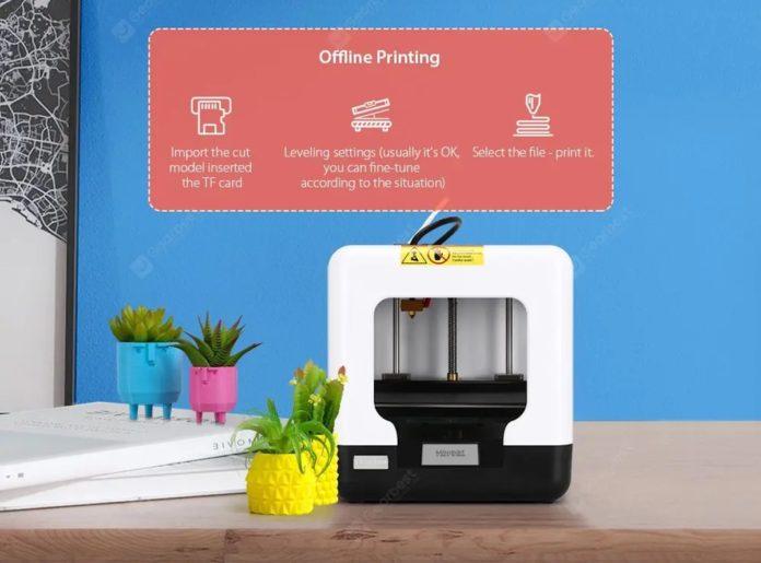FULCRUM MINIBOT è la stampante 3D per bambini, ora in offerta a 130,90