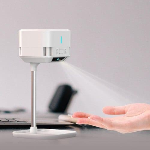 NOMU A1, il dispenser contactles per igienizzare mani e oggetti in offerta lampo a 55 euro