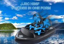 JJRC H36F, solo 20 euro per il drone che vola e va in acqua e su terra