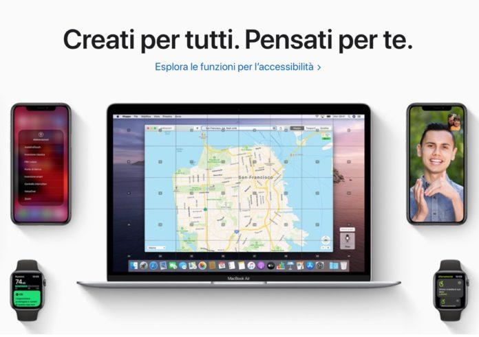 Apple promuove l'Accessibilità su App Store, web e nel video Today at Apple