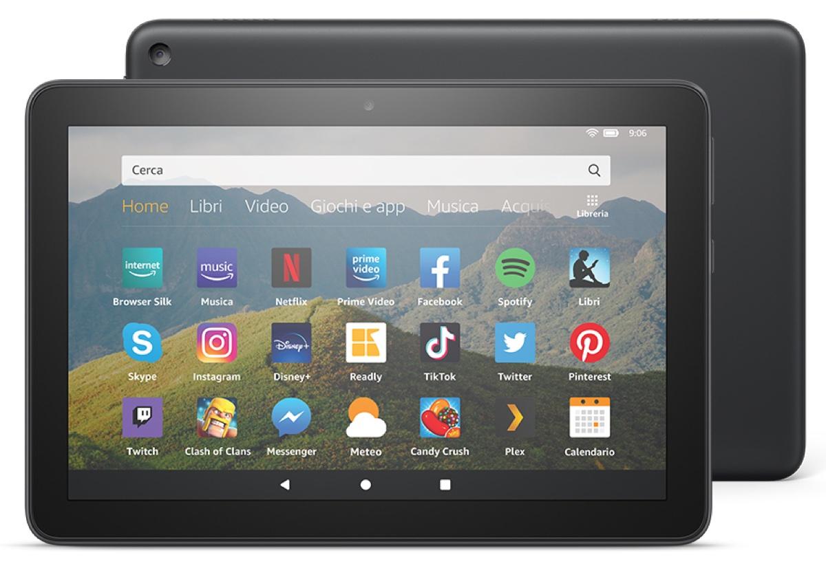 Amazon Fire HD 8 migliora tutto e riduce il prezzo