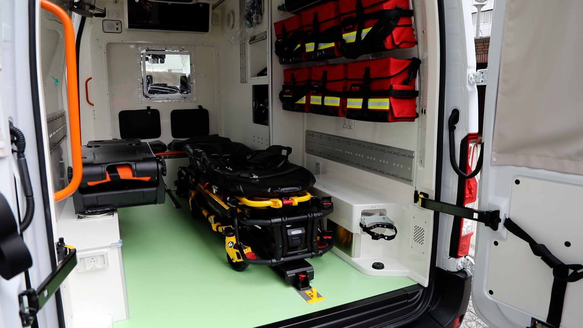 ambulanza zero emissioni