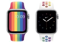 Apple e Nike presentano i nuovi cinturini Pride per Apple Watch