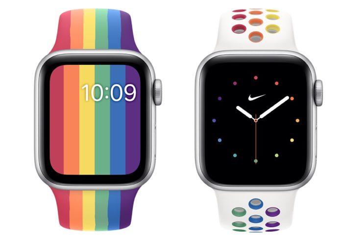 Apple e Nike presentano i nuovi cinturini Pride per Apple Watch