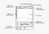 Apple ha brevetto dispositivi con la possibilità di mostrare messaggi nelle aree esterna del display